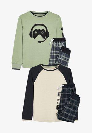 2 PACK - Pyjama - green