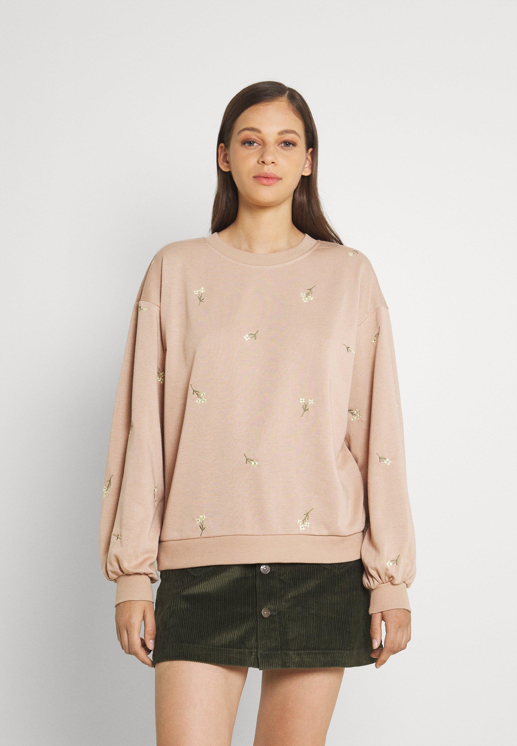 Women VMNATALIE EMBROIDERY - Sweatshirt