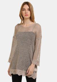 usha - Sweter - taupe - 0