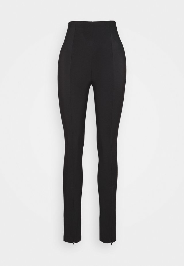 GET ENOUGH PANT - Pantalon classique - black