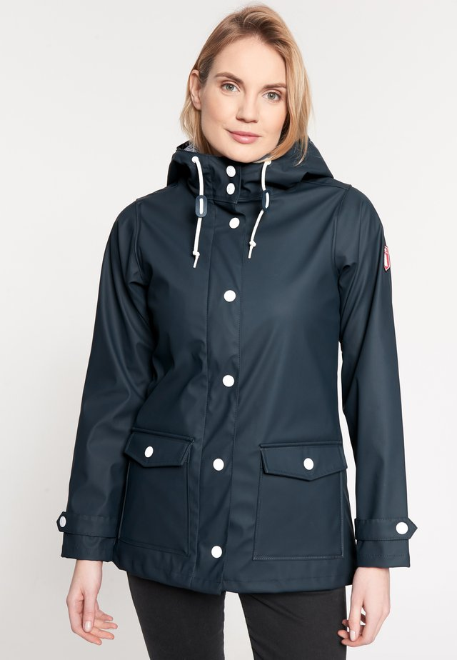 PENINSULA FISHER - Waterproof jacket - navy