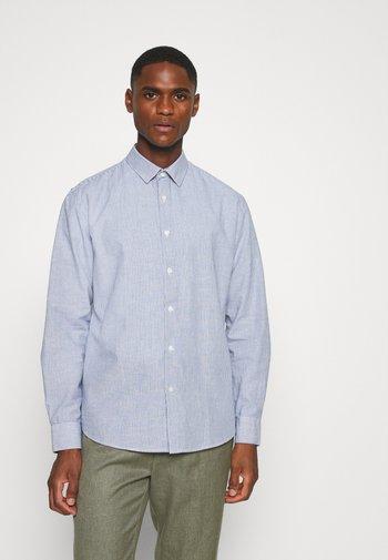 SLHSLIMLINEN - Shirt - medieval blue