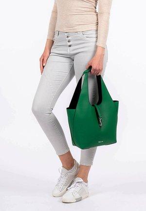 Tote bag - green black