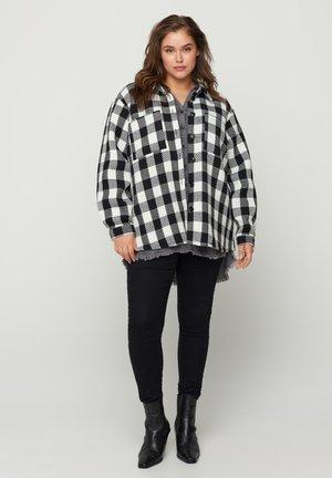 Light jacket - black comb