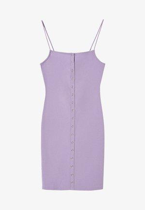 Pouzdrové šaty - mauve