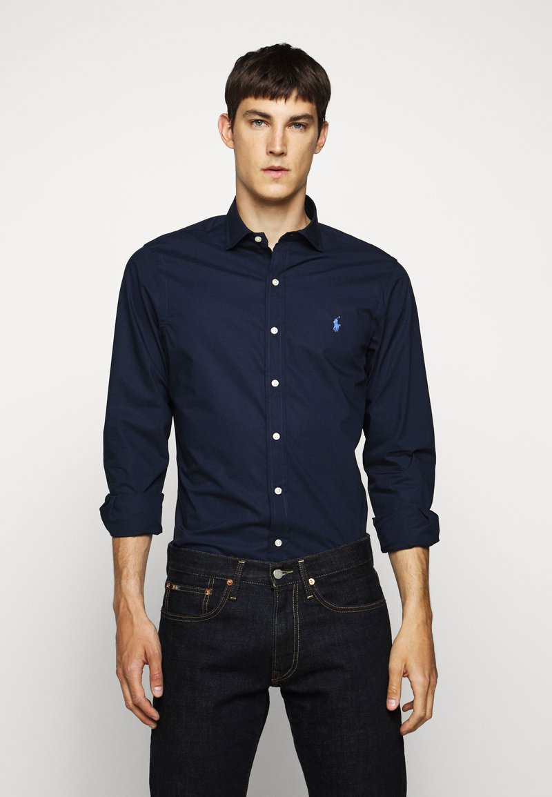 Polo Ralph Lauren - NATURAL - Overhemd - newport navy