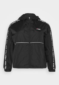 Fila Plus - TATTUM WIND JACKET - Kevyt takki - black/bright white - 5