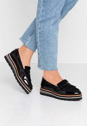 WIDE FIT GRACELLA - Loafers - black
