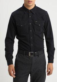 Calvin Klein Jeans - BELT - Pásek - black - 1