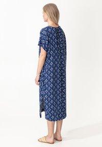 Indiska - KAFTAN VISHA - Day dress - blue - 2