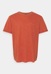 Jack & Jones - JPRBLABEACH TEE SOLID - Print T-shirt - mecca orange - 0