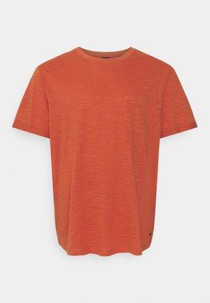JPRBLABEACH TEE SOLID - Print T-shirt - mecca orange