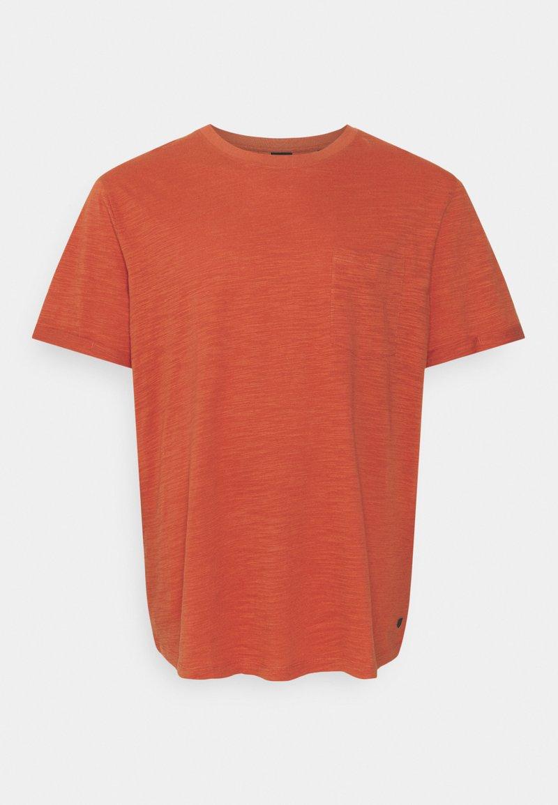 Jack & Jones - JPRBLABEACH TEE SOLID - Print T-shirt - mecca orange