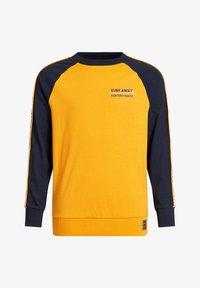 WE Fashion - MET TAPEDETAIL - Longsleeve - ochre yellow - 0
