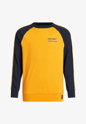MET TAPEDETAIL - Longsleeve - ochre yellow