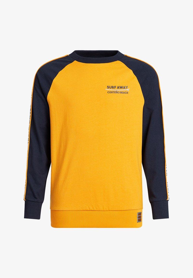 WE Fashion - MET TAPEDETAIL - Longsleeve - ochre yellow
