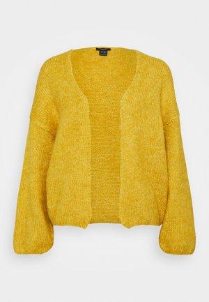 VANESSA CARDIGAN - Cardigan - yellow
