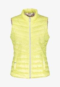 Gerry Weber - MIT STEHKRAGEN - Waistcoat - tender yellow - 3