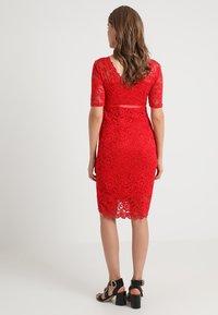 MAMALICIOUS - MLMIVANA BACK DRESS - Vestido de cóctel - chinese red - 2