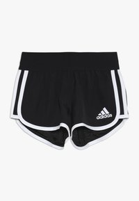 adidas Performance - Sports shorts - black/white - 0