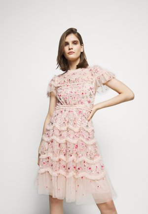 ELSIE RIBBON MINI DRESS - Cocktailkleid/festliches Kleid - pink encore