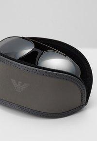 Emporio Armani - Sunglasses - matte gunmetal/ light grey - 1
