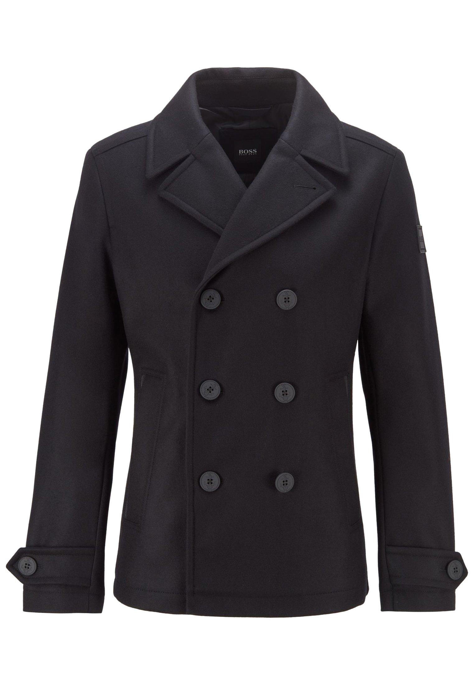 Halflange jas black