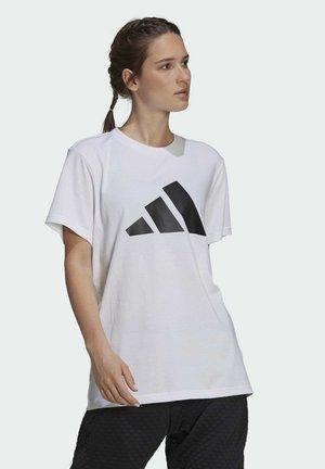 W FI 3B TEE - Print T-shirt - white