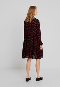 Freequent - FLOW PRINT - Korte jurk - black mix - 3