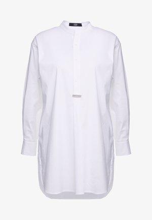 BELLE TUNIC SHIRT - Bluse - white