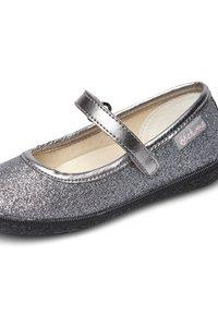 Naturino - PAVIA - Ankle strap ballet pumps - silber - 5