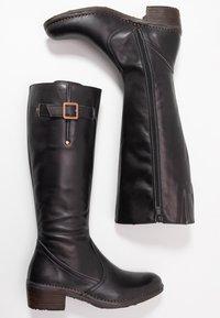 Neosens - MEDOC - Cowboy/Biker boots - iris/ebony - 3