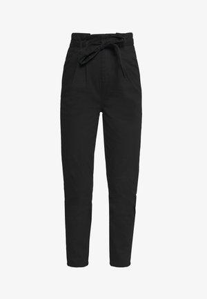ONLPIXI PAPERBACK PANT - Trousers - black