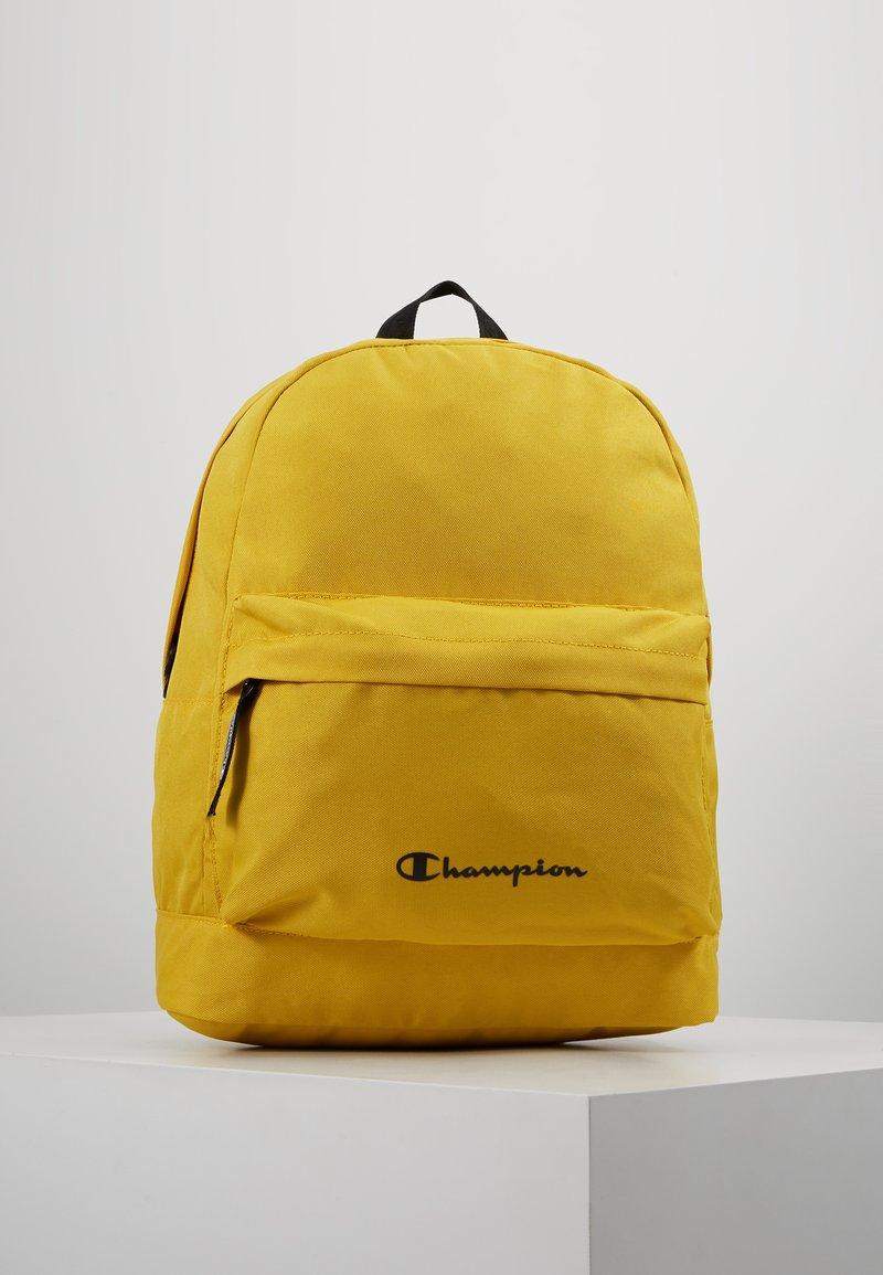 Champion - BACKPACK - Reppu - mustard yellow