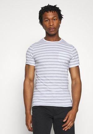 Jednoduché triko - dark navy blue