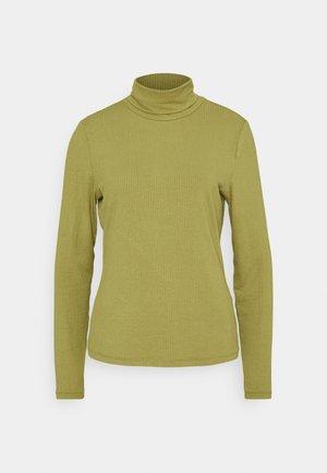 VISOLITTA ROLLNECK - Long sleeved top - green olive