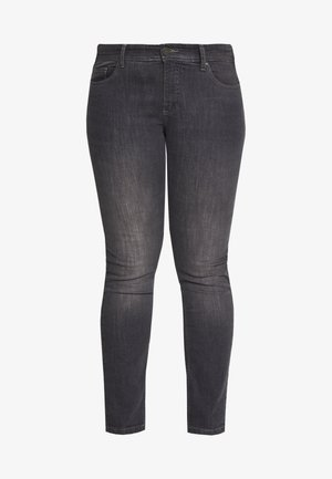 EMILY FIT - Slim fit jeans - grey denim