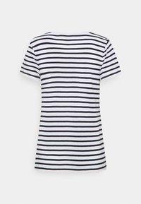 GAP - T-shirt print - heart navy - 1