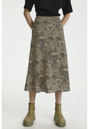 A-line skirt - sahara dust leo