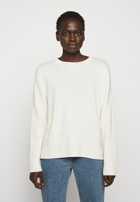 CHINTI & PARKER - THE BOXY - Jersey de punto - cream - 0