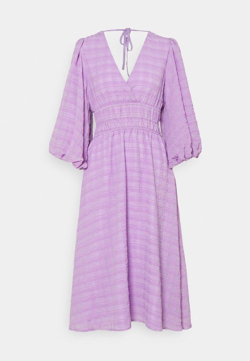 YAS - YASSHEILA MIDI DRESS - Sukienka letnia - sheer lilac