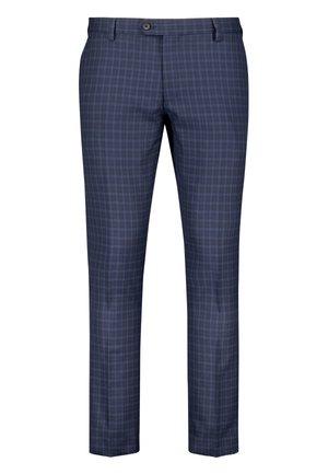 TEXTURED - Pantaloni eleganti - brown