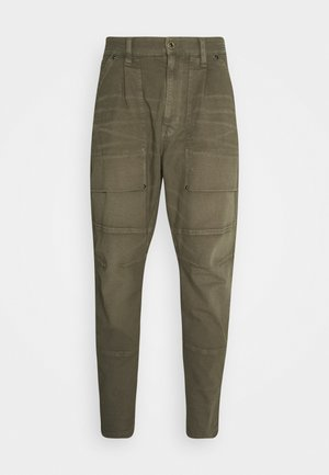 FATIGUE RELAXED TAPERED - Cargobroek - antic asfalt