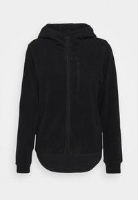 Fleece jacket - black