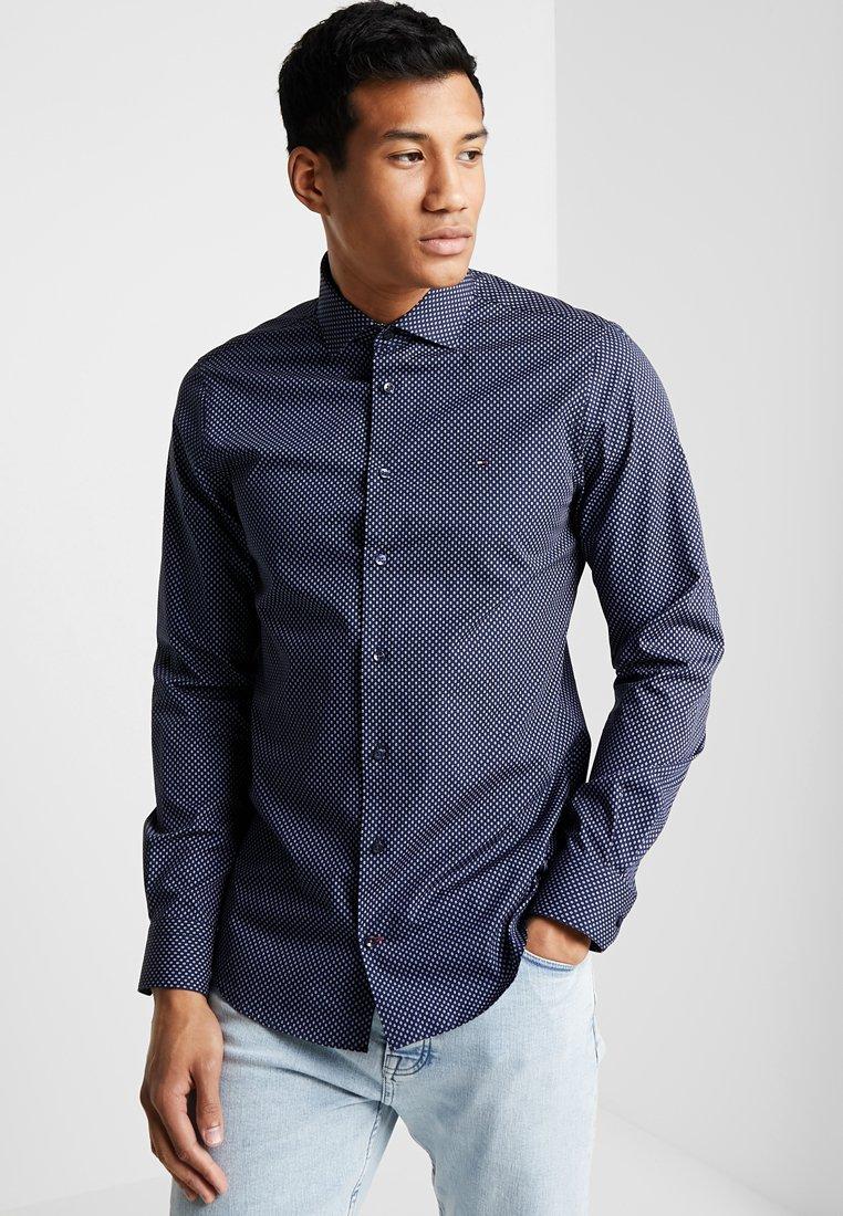 Tommy Hilfiger Tailored - PRINT CLASSIC SLIM - Shirt - blue