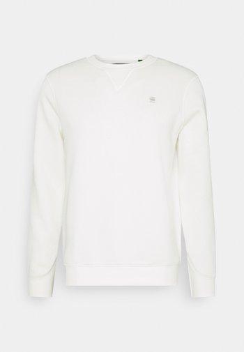 PREMIUM CORE R SW L\S - Sweatshirt - milk