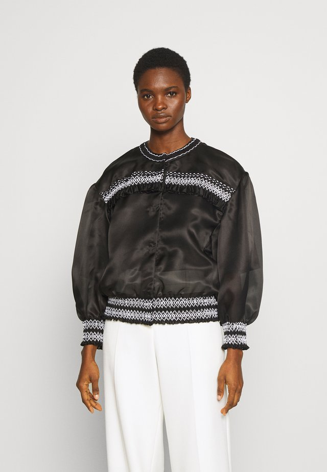 LIGHTWEIGHTS - Kurtka Bomber - black