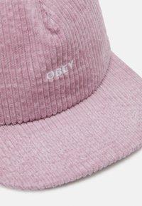Obey Clothing - BOLD STRAPBACK UNISEX - Lippalakki - dusty rose - 3
