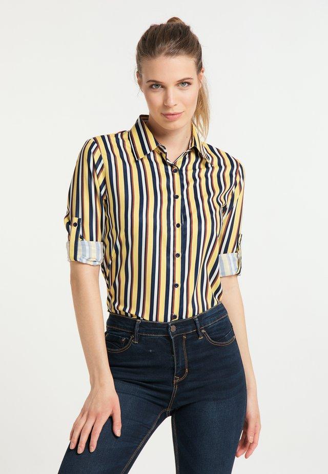 Košile - multicolor gestreift