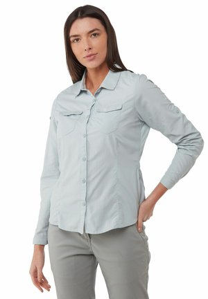 NOSILIFE ADVENTURE - Button-down blouse - mineral blue